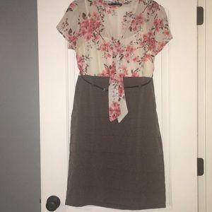 Maurices flower print top dress
